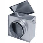 Фильтр FLK/ФЛК 160 для круглых каналов с фильтрующей вставкой EU3