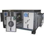 Приточная установка напольная Titan EC (N/VN) 100-50 (III)-L (380В) с водяным нагревателем