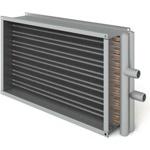 Воздухонагреватель водяной ВОП 600-300/3 прямоугольных каналов, 3-х рядные